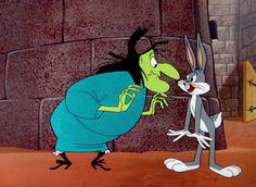 Witch Hazel & Bugs Bunny
