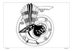 Sam Clark – Kura Gallery: Maori and New Zealand Art + Design. Koru Tattoo, New Zealand Art, Maori Art, Scroll Saw, Stencils, Birds, Graphic Design, Ink, Embroidery