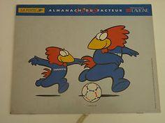 COUPE DU MONDE DE FOOTBALL FRANCE 1998 calendrier LA POSTE FOOTIX & STADES     eBay