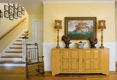 Benjamin Moore Hawthorne Yellow--for dining room Wall Colors, House Colors, Paint Colors, Benjamin Moore Yellow, My Living Room, Living Room Decor, Hawthorne Yellow, Benjamin Moore Bathroom, Paint For Kitchen Walls