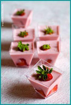 Mousse alle fragole #lapatataingiacchetta
