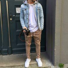 @louisdarcis #dailystreetlooks Mens Fashion | #MichaelLouis - www.MichaelLouis.com #MensFashionChinos #Mensoutfits