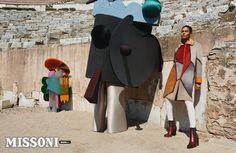 Missioni FW advertorial. Joan Smalls.  #futuristic