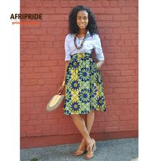African Summer skirt for women