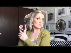 Beachy Hair tutorial for shoulder length hair - YouTube