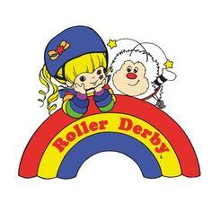 Image of Rainbow Derby sticker