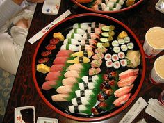 sushi I WILL EAT IT ALL