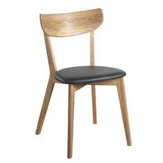 Nordik spisestol i oljet eik med sete i PU fra Select21:s stolkolleksjon. Nordik er en moderne stol ...
