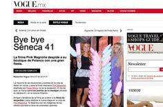 Fotos de la fiesta de Bye bye Senca 41, por Vogue.mx