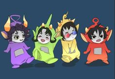Homestuck is a fandom made by Andrew Hussie; Apparently the 4th biggest fandom