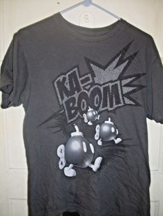 Bomberman T Shirt Nintendo Bomb Ka-Boom Size Medium Video Game Classic  #Nintendo #GraphicTee