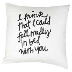 Quote cushion, available in Browsers Furniture Co. Limerick Ireland, Bed Pillows, Cushions, Industrial Chic, Quote, Beauty, Inspiration, Furniture, Pillows