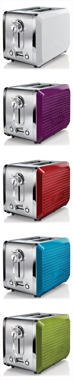A toaster you'll want to keep out on the counter. #Kohls i will have a very colorful kitchen