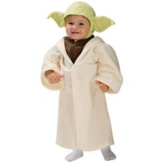 Star Wars Yoda Toddler Costume, Yoda is responsible for training Luke Skywalker in the ways of the Jedi. Look at me. This Star Wars Yoda kid costume includes a character headpiece and h. Halloween Bebes, Star Wars Halloween Costumes, Toddler Halloween Costumes, Boy Costumes, Infant Costumes, Halloween Parties, Halloween Sale, Creepy Halloween, Crafts