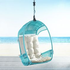 Turquoise Swingasan® Hanging Chair | Pier 1 Imports