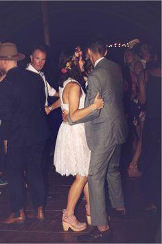 John Luke and Mary Kate dancing on their wedding night 6/27/15