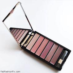 L'Oréal Paris nude lip colors in Color Riche Lip Palette. #makeup #loreal #colorriche #nudelips