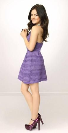 Aria Montgomery - Lucy Hale (season 1 - present)