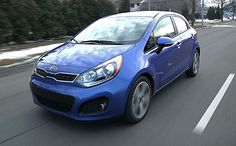 My review of the 2012 Kia Rio SX for BeCarChic -- with video