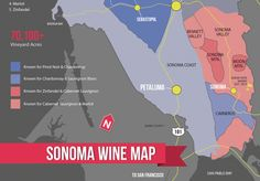 Understanding the Sonoma Wine Region (with Maps)