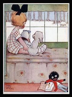 """by Mabel Lucie Attwell, from """"The Boo Boos at Schooll"""", via http://www.fairyworx.net/Mabel_Lucie_Attwell.html, marked as in Public Domain."""