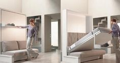 Chic Foldable Wall Beds