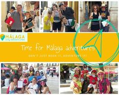 "We love our City Adventures! Become a Malaga Adventurer, too! ""I organised this experience as a surprise for my two friends & it certainly didn't fail. Malaga City, Big Hugs, Andalusia, Walking Tour, Old Town, Adventure Time, How To Become, How To Memorize Things, Books"
