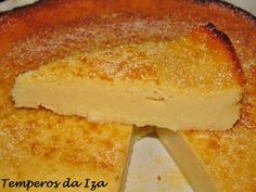 Visit the post for more. Portuguese Desserts, Portuguese Recipes, Cheesecakes, Natural Yogurt, Cornbread, Vanilla Cake, Deserts, Good Food, Easy Meals