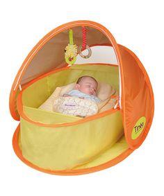 Tinéo Orange Pop-Up Sun Shelter Tent