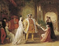 Henry VIII's First Interview with Anne Boleyn - Daniel Maclise, R.A. - The Athenaeum