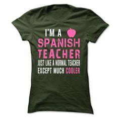 MUCH COOLER spanish TEACHER