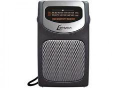 Rádio Portátil AM/FM - Lenoxx RP 62