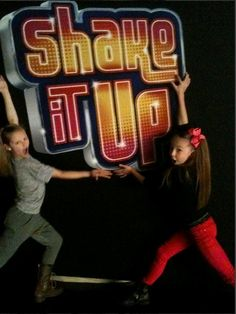 Autumn Miller and Sophia Lucia on Shake It  Up.