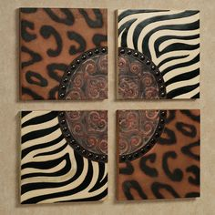 Rozhani Wall Plaque.   Ha! I think my African Safari Motif is finally coming together! :)
