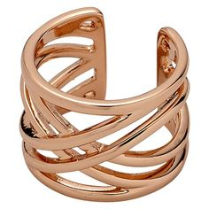 Ring : Spring rings : Rose Gold Color
