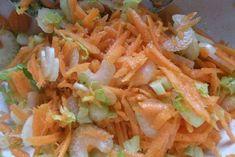 Staudensellerie Karottensalat - Rezept