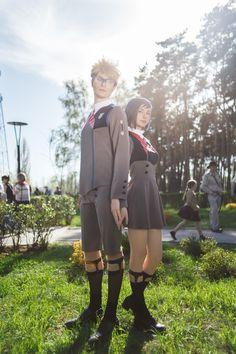 Darling in the Franxx: Goro and Ichigo cosplay, Cute Cosplay, Cosplay Costumes, Ichigo Cosplay, Anime Cosplay, Hidori Rose, Group Cosplay, Mysterious Girl, Cosplay Characters, Zero Two