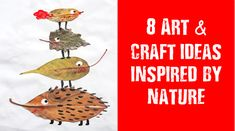 8 Amazing #ArtandCraft, #DIYGiftIdeas inspired by nature: http://thechampatree.in/2015/09/29/art-and-craft-for-kids-diy-creative-ideas/