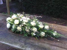 #rouwbloemen #afscheidsbloemen BLOM BLoemwerk Op Maat #Wageningen