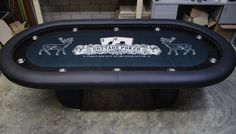 Poker table design