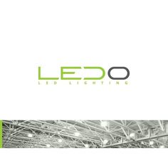 LEDO - logo by Tovarkovdesign for industry and office LED-lighting units produced by Ukrainian company Renome (Khmelnytskyi).