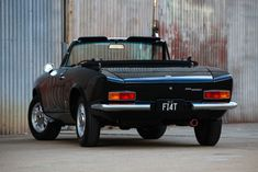 A chance encounter during a focused search results in a multi-year restoration project. Fiat 124 Sport Spider, Fiat 124 Spider, Super 4, Restoration, Restore, Cars, The Originals, Search, Vehicles