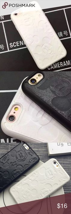 iphone 7 Plus white Disney Mickey Case Protective Super cute white Disney Mickey iphone 7 plus phone case! I loved this case, NEVER USED! One of my favorites. In perfect condition! *Not American Eagle* American Eagle Outfitters Accessories Phone Cases