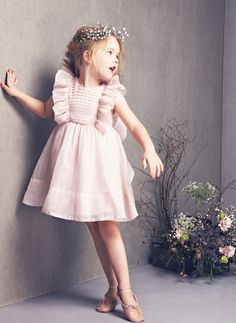 Mae Dress by NellyStella in Pink – The Girls @ Los Altos