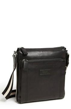 Bally 'Tuston' Calfskin Messenger Bag available at