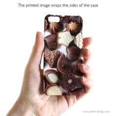 Chocolate iPhone 5 Plastic Case Sweet Gadget by petekdesign