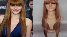 Simon Says Deluxe Bella Thorne Long Strawberry Copper Blonde Straight Fashion Celebrity Wig Deluxe Bella Thorne wig. The celebrity inspired wig features a long, straight strawberry copper blonde design with shorter layers and natural fringe . Made from 100% Prem (Barcode EAN = 0632930668113) http://www.comparestoreprices.co.uk/celebrity-fashion/simon-says-deluxe-bella-thorne-long-strawberry-copper-blonde-straight-fashion-celebrity-wig.asp