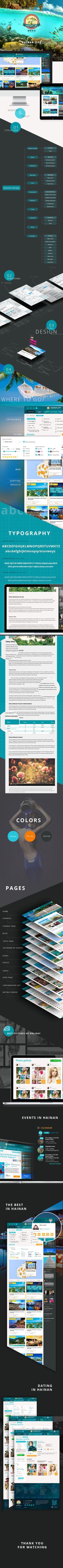 "Portal ""Hainan life"" on Behance"