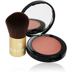 Genie Make Me Blush (2.6g Compact with Small Kabuki Brush) *** Want additional info? Click on the image. (This is an affiliate link) #Makeup