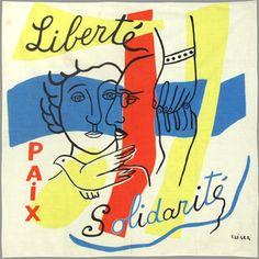 Léger Fernand : Multiple : Liberté Paix Solidarité